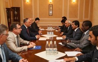 Dodon: În relația Moldova-Qatar, există un potențial enorm, nevalorificat
