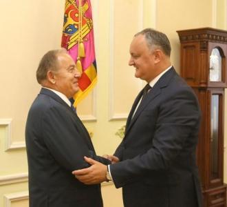Subiecte de actualitate ce ţin de relaţiile bilaterale moldo-turce și cu privire la situația internă și politica externă a țării, discutate la Președinție