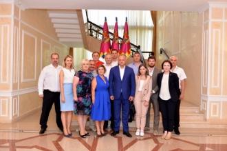 Igor Dodon s-a întîlnit cu membrii diasporei moldovenești din Federația Rusă