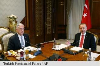 Șeful Pentagonului ia act de criticile președintelui turc Erdogan privind sprijinul american pentru kurzi
