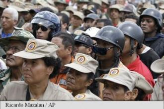 Venezuela: Peste 900.000 de persoane mobilizate pentru exerciții militare la sfârșitul săptămânii