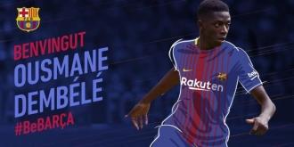 Barcelona a anunțat transferul lui Dembele