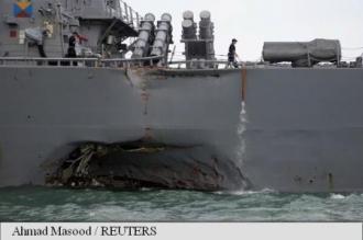 Singapore: Au fost găsite corpurile marinarilor americani dispăruți în accidentul distrugătorului USS John S McCain