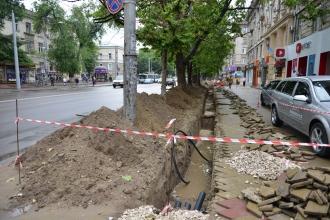 Angajamentul de a finaliza lucrările de reabilitare a bd. Ștefan cel Mare, nerespectat de autoritățile municipale