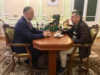 Viorel Bologan, felicitat de Preeșdintele țării pentru victoria la Campionatul Mondial de șah rapid