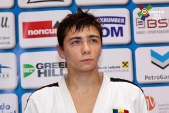 Denis Vieru a obținut o victorie la Mondialele de judo