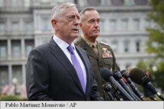 Washingtonul promite 'un răspuns militar masiv' în caz de amenințări din partea Phenianului