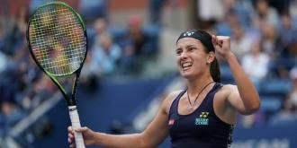 Sharapova, eliminată de la US Open! Sevastova a revenit după ce a pierdut primul set