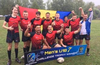 Naționala de rugby 7 a Moldovei a cîștigat Challenge Cup