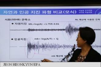 Testul nuclear nord-coreean a provocat alunecări de teren