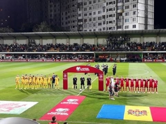Naționala Moldovei, învinsă pe final de Țara Galilor