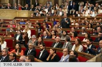Spania: Parlamentul catalan a adoptat legea de organizare a unui referendum de autodeterminare