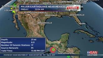 CUTREMUR cu magnitudinea 8 pe scara Richter, în largul coastelor Mexicului. Alertă de tsunami pentru şapte state