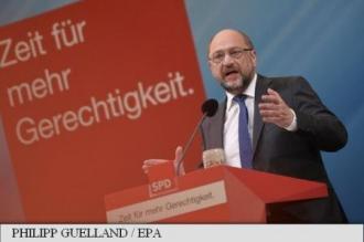 Germania: Martin Schulz își dublează eforturile împotriva cancelarului Angela Merkel