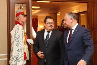 Igor Dodon a avut o întrevedere cu șeful  Delegaţiei UE în RM