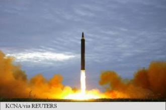 Coreea de Nord a lansat o rachetă deasupra Japoniei