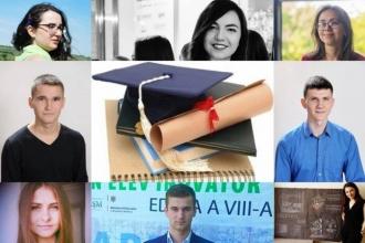 62 de elevi și studenți vor primi burse de merit în anul de studii 2017-2018