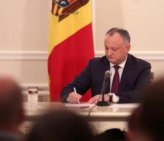 Igor Dodon, respinge, pentru a doua oară, candidatura lui Eugen Sturza la funcția de ministru al Apărării