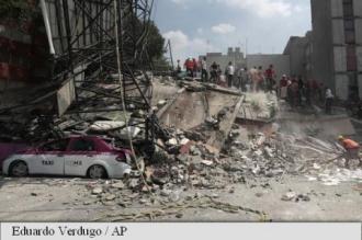 Cutremur de magnitudine 7,1 în Mexic. Bilanțul depășește 100 de morți