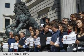Spania: Mii de catalani au ieșit în stradă după arestarea unor oficiali regionali în legătură cu referendumul