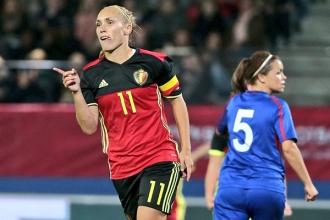 Naționala feminină de fotbal a fost surclasată de Belgia