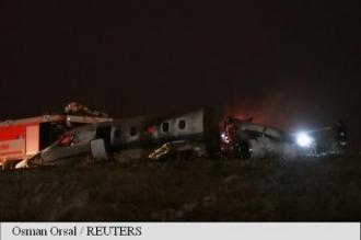 Aeroportul Ataturk din Istanbul, unde un avion privat a luat foc la aterizare, a fost redeschis