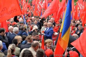 PSRM dă startul campaniei de colectare a semnăturilor în susţinerea trecerii la republică prezidenţială