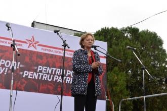 Zinaida Greceanîi: Trebuie să fim împotriva celor care vor să ne distrugă țara