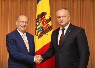 Președintele pledează pentru intensificarea cooperării între Cipru și Moldova