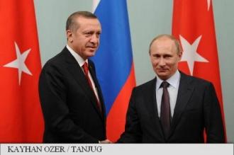 Putin și Erdogan vor analiza joi, la Ankara, situația din Irak și din Siria