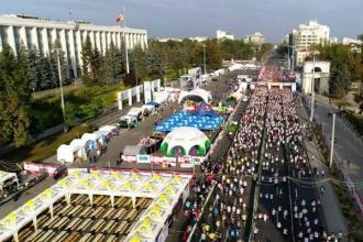 Cel de-al treilea Maraton Internațional Chișinău a adunat circa 17 mii de participanți