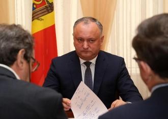 Șeful statului: Moldova trebuie să stabilească relații bune de cooperare cu toți vecinii