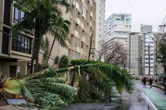Bilanţul victimelor din Puerto Rico în urma uraganului Maria a ajuns la 34 de morţi / Donald Trump a vizitat zonele afectate de pe insulă