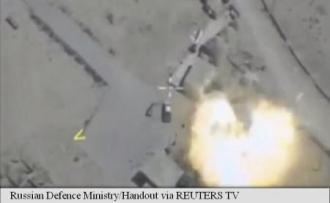 Rusia anunță că a distrus cel mai mare depozit de muniții al unei coaliții jihadiste în Siria