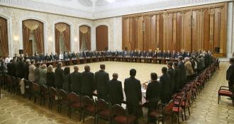 Consiliului Societății Civile pe lângă Președinte, întrunit în prima ședință