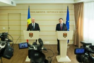Guvernul și parlamentul se convoacă într-o ședință comună