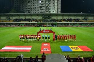 Naționala Moldovei a cedat și în ultimul meci cu Austria