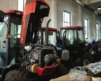 Parteneriat dintre uzina de tractoare din Belarus și întreprinderea din satul Tomai, Ceadîr Lunga