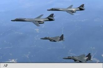 Două bombardiere americane au survolat Peninsula Coreeană, într-un exercițiu de noapte cu avioane japoneze și sud-coreene