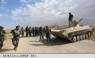 Trupele irakiene se îndreaptă spre câmpurile petrolifere din Kirkuk, deținute de trei ani de kurzi
