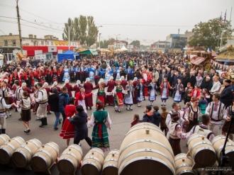 Ziua vinului, sărbătorită  la Comrat în data de 5 noiembrie