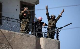 Oraşul sirian Raqqa, fieful reţelei teroriste Stat Islamic, a fost eliberat