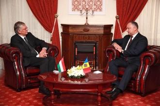Șeful statului a primit scrisorile de acreditare a trei ambasadori