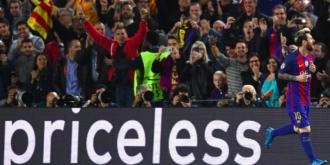 Lionel Messi a atins cota 100 de goluri marcate în competițiile europene