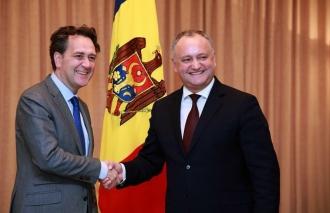 Igor Dodon a avut o întrevedere cu directorul executiv al Băncii Mondiale pentru Moldova
