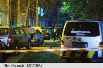 Explozie la Kiev: un mort, un parlamentar rănit
