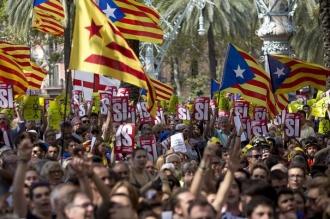 Parlamentul Cataloniei a aprobat proclamarea independenţei faţă de Spania