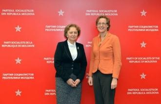Subiecte ce vizează politica externă și internă a RM, discutate de Ambasadorul Germaniei și liderul PSRM