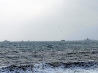O navă de marfă ce avea 11 persoane la bord s-a scufundat în Marea Neagră