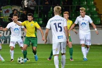 Zimbru a remizat cu Molde în Liga Campionilor printre juniori